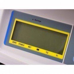 Detalle pantalla LCD balanza Baxtran BS