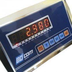 Visor digital con batería interna de báscula