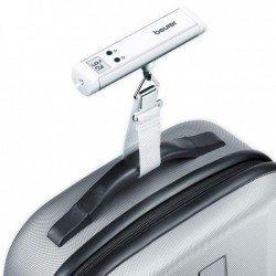Balanza de mano con linterna para pesar maletas