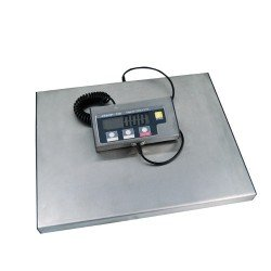 bascula de suelo para pesar paquetes de 150 Kg