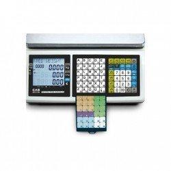 detalle teclado balanza CAS CT100