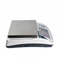 Lateral balanza digital de mesa certificada Baxtran N10