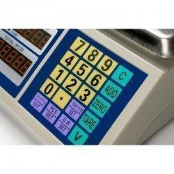 Botonera de la balanza cuenta piezas Bdcom CN 30 Kg