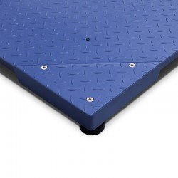 Esquina plataforma Gram Xlion con fácil acceso a célula de carga