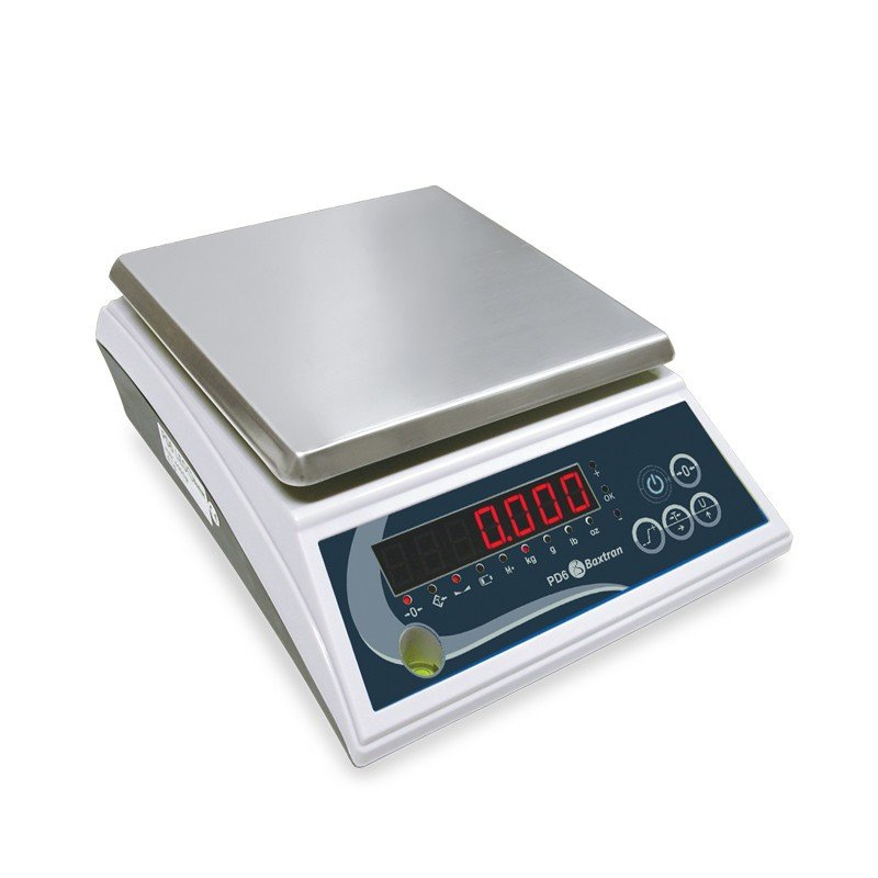 Balanza de mesa 6 kg digital Baxtran PD6LED