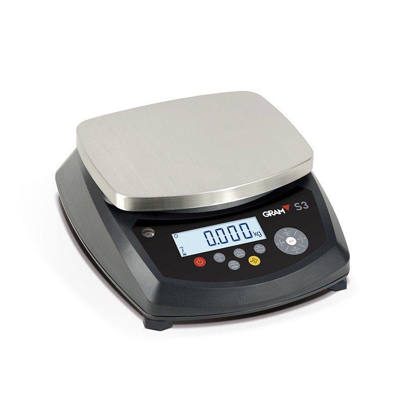 Balanza compacta digital Gram S3