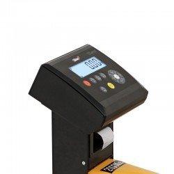 indicador integrado en el pesapalets, impresora opcional