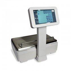 Visor trasero cliente LCD de la balanza de comercio STI