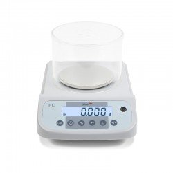 Pantalla LCD y botonera balanza laboratorio FC