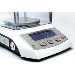 detalle botonera balanza precision laboratorio