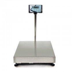Báscula plataforma con distintos tamaños para entornos industriales