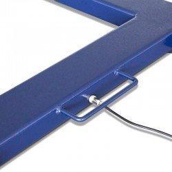 Detalle conector y asa de transporte pesapalets Rx-Snake