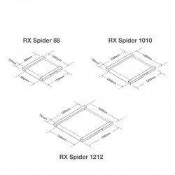 Planos plataformas báscula Spider