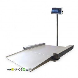 Báscula Atex para subir palets