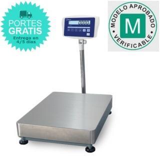 Báscula de plataforma Homologada MKSM