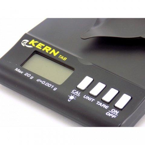 Balanza precisión joyera Kern 0,001g