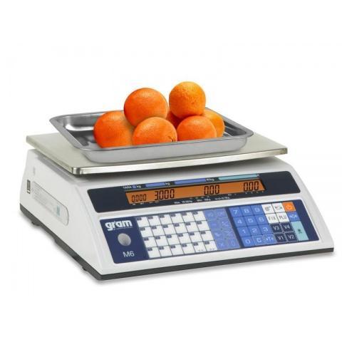 Balanza comercial con Impresora Gram M6-30