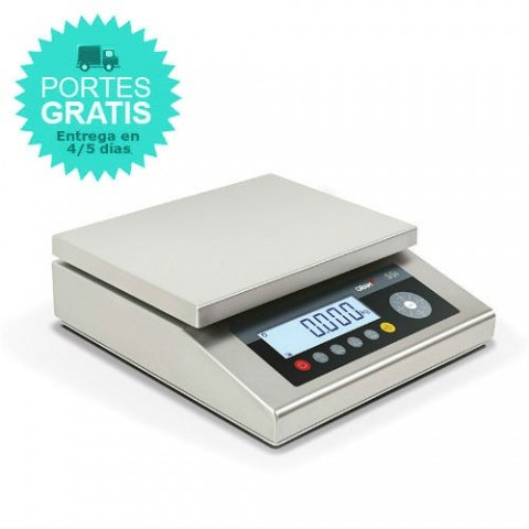 Balanza Inoxidable estanca Gram S5i