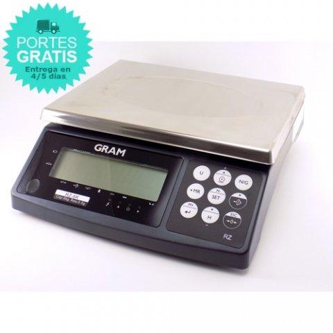 Balanza sobremesa industrial Gram RZ30