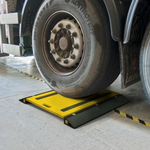Báscula Pesa Ejes vehículos Gram PR desde 3 hasta 20 toneladas