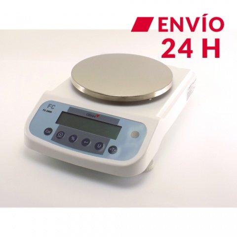 Balanza de laboratorio digital Gram FC-2000