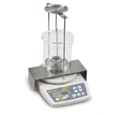 Balanza Joyera Kern EMB-200 cálculo de densidad metales