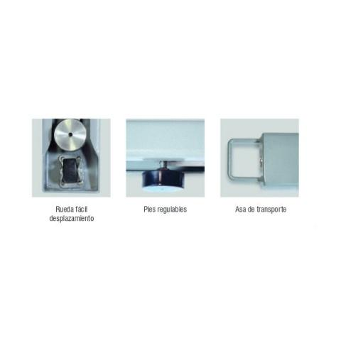 Barras pesadoras Baxtran Mod. XFI 3000 kg