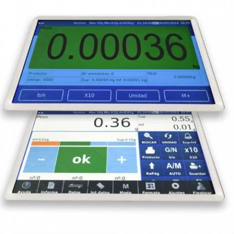 Balanza digital táctil Certificada CE Baxtran N10