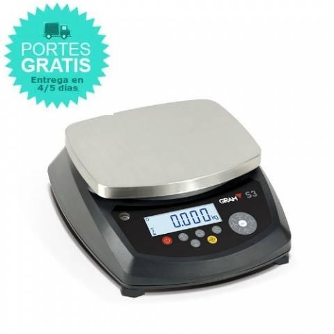 Balanza compacta digital protección IP-65 Gram S3