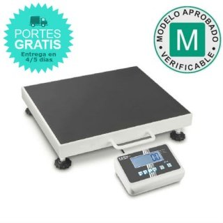 Báscula maleta médica portátil Kern MPC 300K-1LM